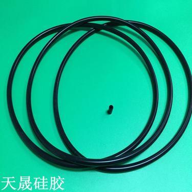 黑色空心硅胶密封圈 防水硅胶密封圈 防漏气硅胶密封圈