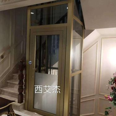 西艾杰 观光电梯手拉门 别墅电梯  电梯厂家