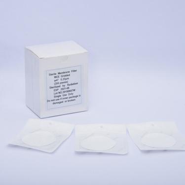 欢迎选购灭菌滤膜 MCE混合纤维素滤膜 φ47/50mm无菌微孔滤膜