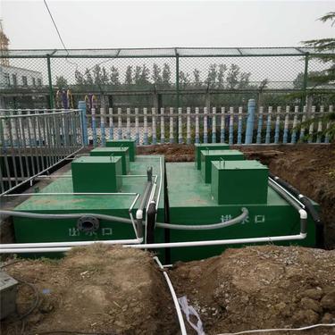 医院污水处理设备_润洁_一体化玻璃钢化粪池_厂家工厂