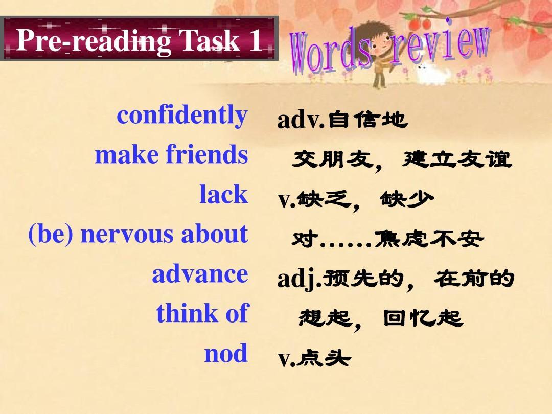Book 6 Module1 Small Talk Reading and Vocabulary 优质课件PPT