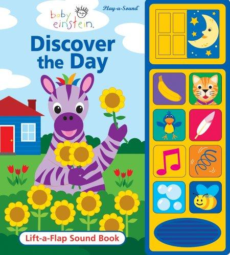 Baby Einstein Discover the Day: Lift-A-Flap Sound Book图片