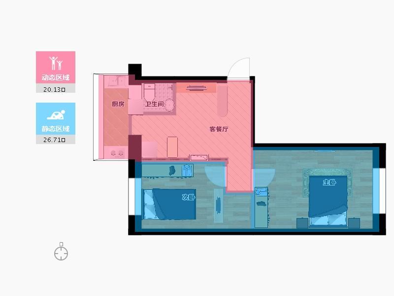 AC国际|注册网址:ag3699.com|BC贷款|2室2厅1卫1厨59.00㎡户型图户型图大全 - 装修户