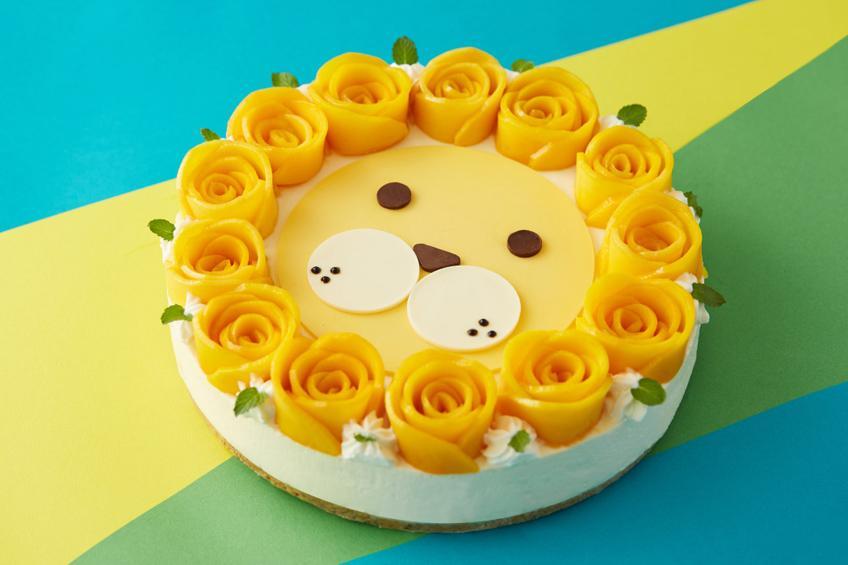 东方福利网-【派悦坊】狮子座芒果乳酪慕斯蛋糕