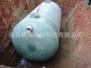 赣强专业制造高效 节能 质轻 价廉生活污水处理设备-玻璃钢化粪池