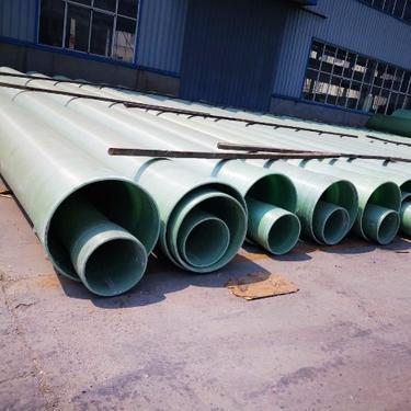 管道 厂家直销处理污水废水输送电缆不生锈 不结垢缠绕式玻璃钢管道