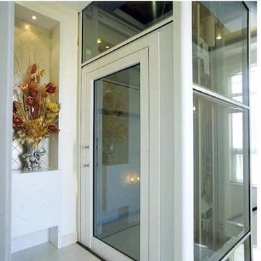 山东豪斯特定制豪华家用小高层电梯别墅复式观光电梯多层无机房*电梯