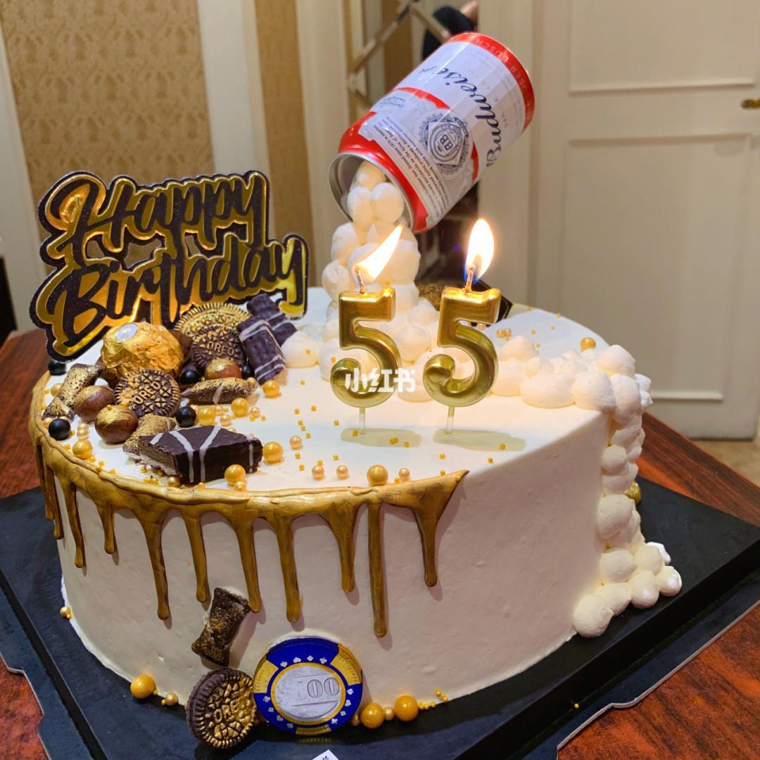 男士蛋糕##啤酒蛋糕##男生蛋糕##生日蛋糕# 家里有男士生日可以选这款蛋糕