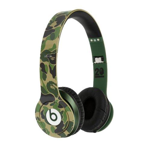 Beats by Dr. Dre x BAPE - 20th Anniversary Limited Edition Solo HD Headphones一