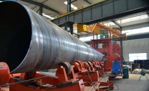 2005年工厂生产螺旋钢管 专做大口径螺旋钢管和厚壁螺旋钢管 国标品质 通过石油部标准示例图4
