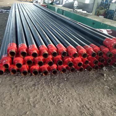 2019新标准热力工程保温管钢套钢保温管道预制直埋聚氨酯保温管道玻璃钢架空保温管道
